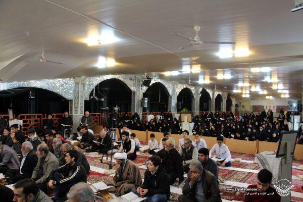 جلسه 261 کرسی تلاوت و تفسیر قرآن کریم شهر علی آباد کتول